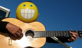 Smile, it's easy to mix in a guitar solo.Photo provided by misterwilson