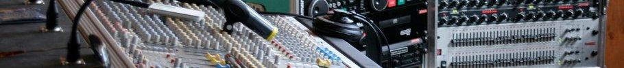 mixing vocals console
