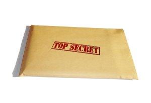 The secret envelop.