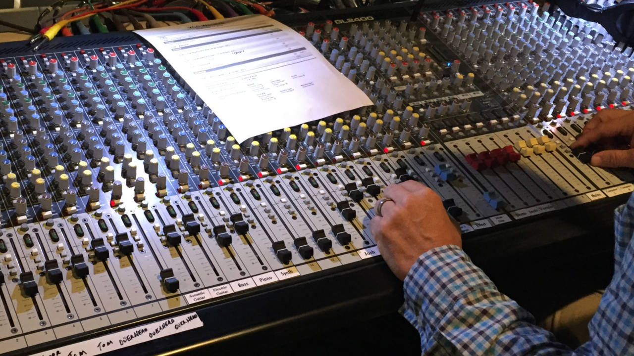 church audio success in 2019 and mixing console